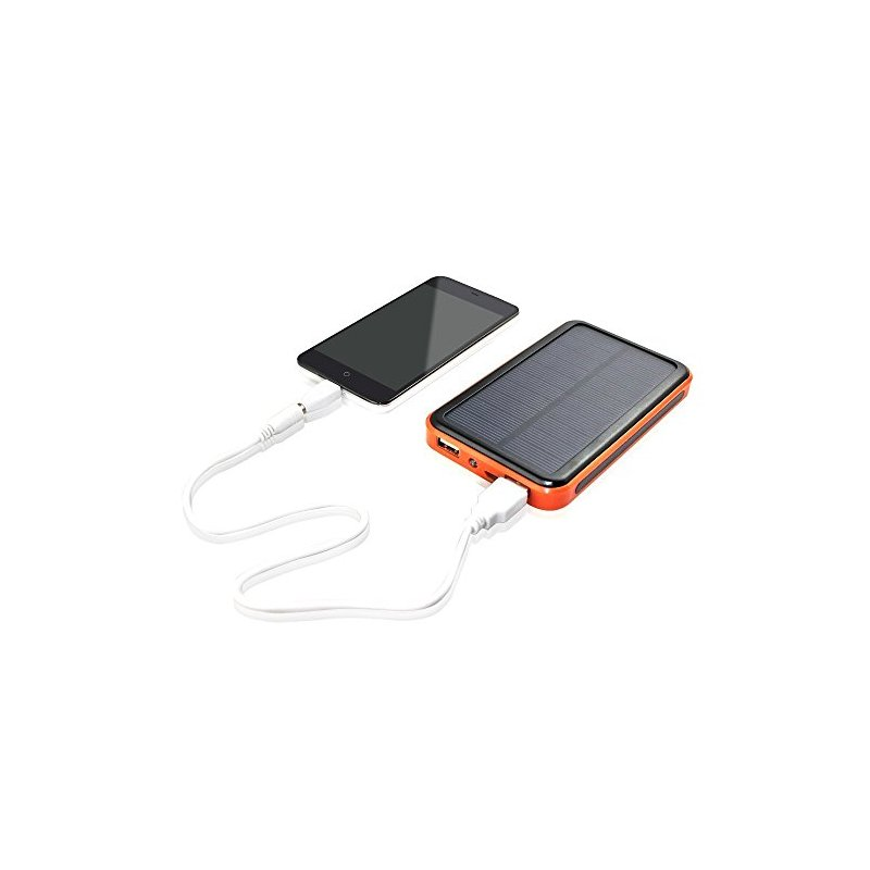 Waterproof Solar Charger Hight capacity 10000mAh backup Power Bank battery external Portable For all Cell phone tablets power(China (Mainland))