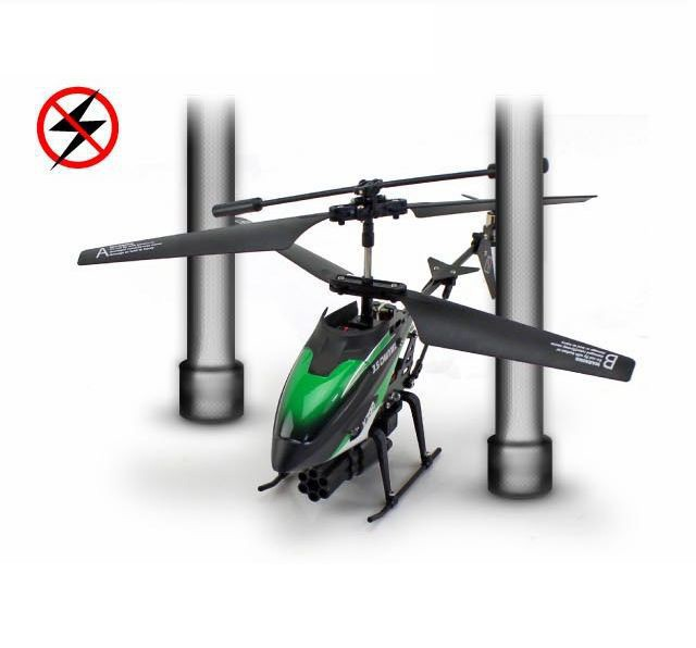 Newest WLToys V398 Cool Missile Launching 3.5CH RC Remote ...
