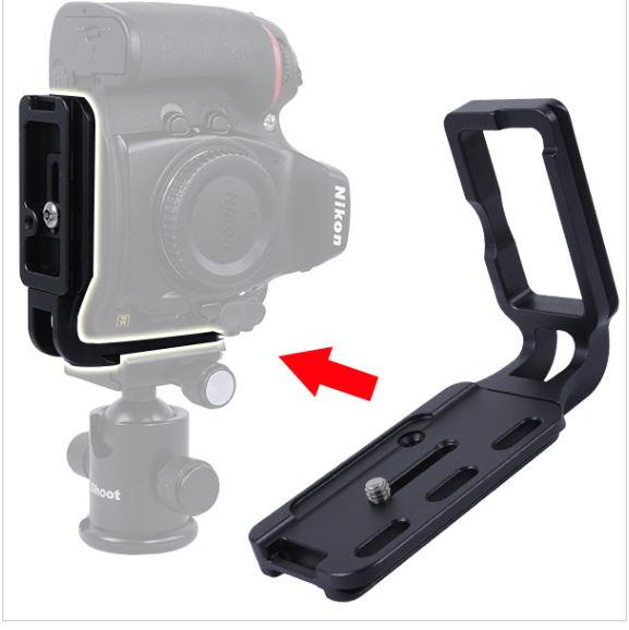 L-shaped Vertical Tripod Quick Release Plate/Camera L Bracket Holder for Nikon D800 D800E Body<br><br>Aliexpress
