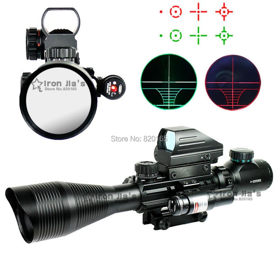 Винтовочный оптический прицел OEM 4/12x50eg 4 & Airsoft C4
