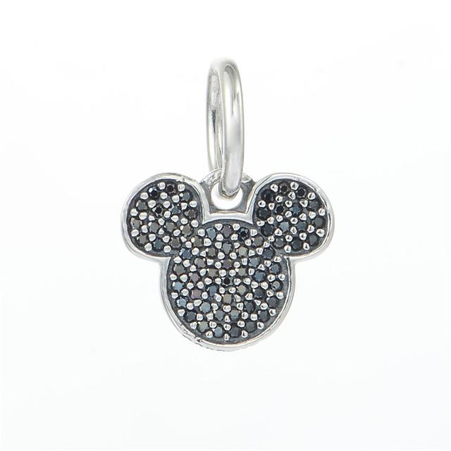 Подходит оригинальный подвески браслеты 925 серебряные ювелирные изделия бусины вымощает игристое циркон шарм DIY ювелирных украшений оптовая продажа серебро