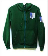 Buy free pp shingeki kyojin attack titan hoodies costumes anime cosplay hoodies men women sports suit coat S- XXL couples for $20.92 in AliExpress store