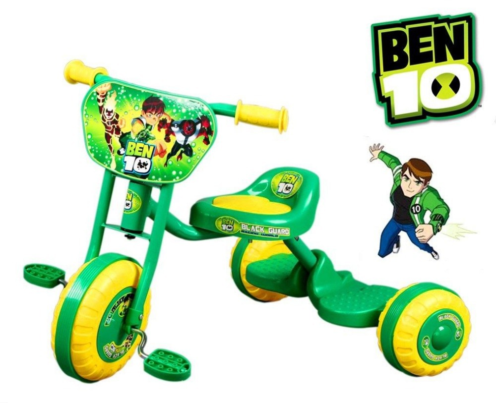 BEN 10 BIKE TRIKE TRICYCLE TODDLER KID CHILD 3 WHEEL OUTDOOR RIDE ON TOY SCOOTER(China (Mainland))