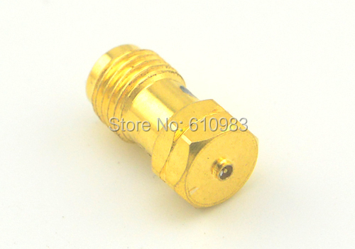 5pcsx Cool SMA adapter SMA female Jack to 4th Generation IPX U.fl Plug Male Pin Terminal RF Coaxial Connector Goldplated<br><br>Aliexpress