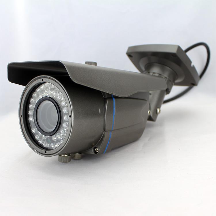 Free Shipping! CCTV HD 2592*1920P(5MP)/3MP/1920*1080P Network IP Camera Varifocal 2.8~12mm Smart Motion Detection Alarm P2P(China (Mainland))