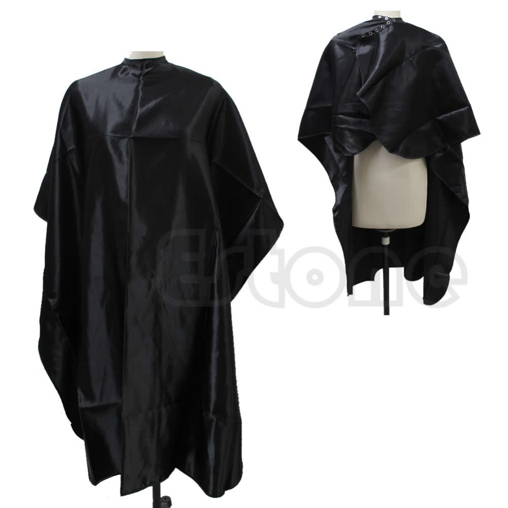 1PC Black Hair Cutting Adult Salon Barber Hairdressing Hairdresser Cape Gown Clothes