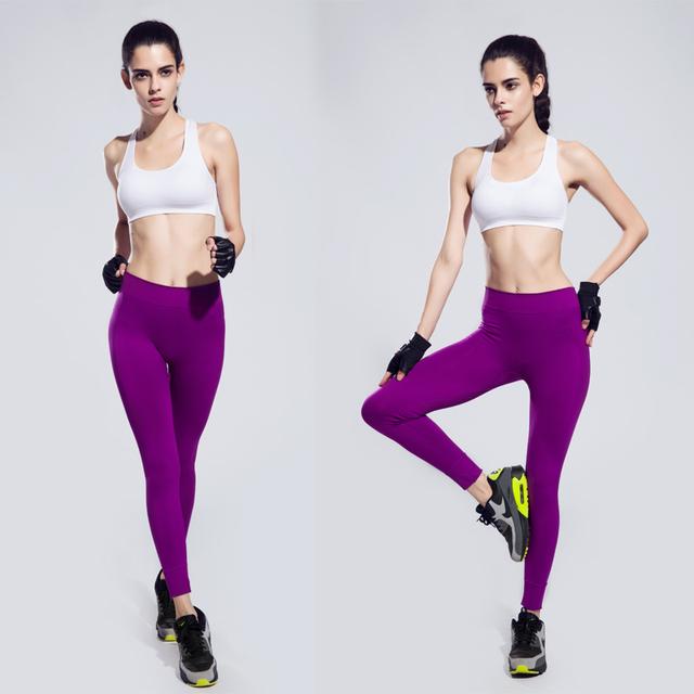 High Waist Stretched Sports Pants