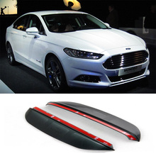 Buy Car-Styling FOR FORD Mondeo 2014 now Carbon rearview mirror rain eyebrow Rainproof Flexible Blade Protector Car Styling for $10.00 in AliExpress store