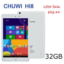 CHUWI HI8 Dual Boot Android 4.4+Window8.1 IPS 8.0 Inch 1920*1200 Z3736F 2.16GHz 64bit Quad Core 2GB RAM 32GB Intel Tablet