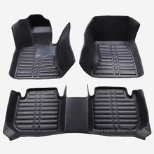 Custom fit car floor mats for Land Rover Discovery 3/4 freelander 2 Sport Range Rover Sport 3D car styling carpet liner RY215
