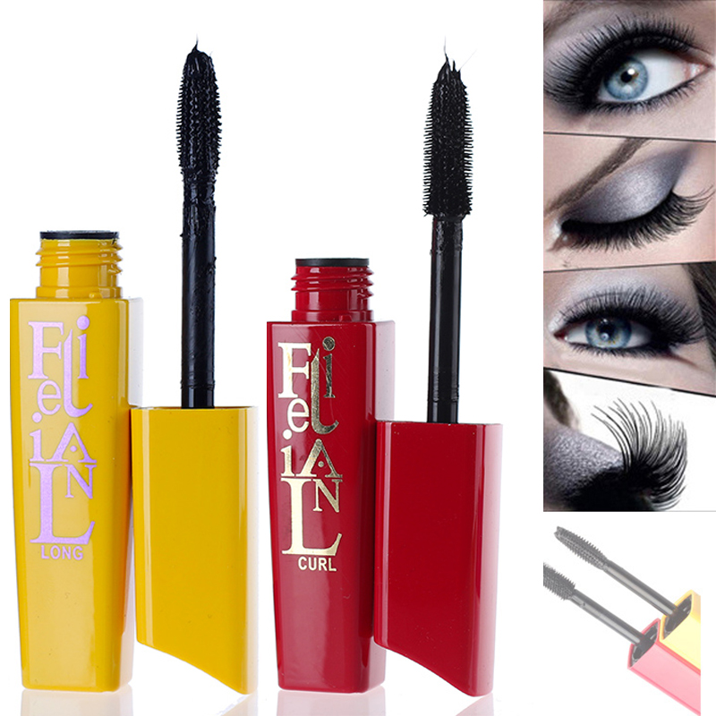 3pcs/lot Brand Mascara Waterproof Makeup Eyelashes Curling Thick with Collagen for eyes Volume Cosmetic set M02313(China (Mainland))