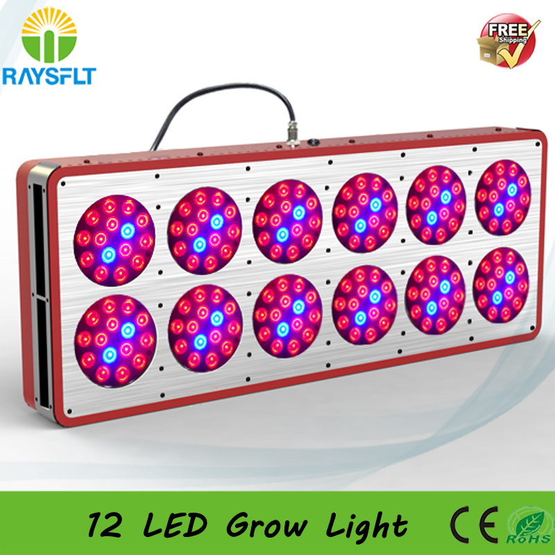 DHL Free shipping newest 180x3w Apollo Hydroponic flower plant growing lamp 12 Led grow light(China (Mainland))