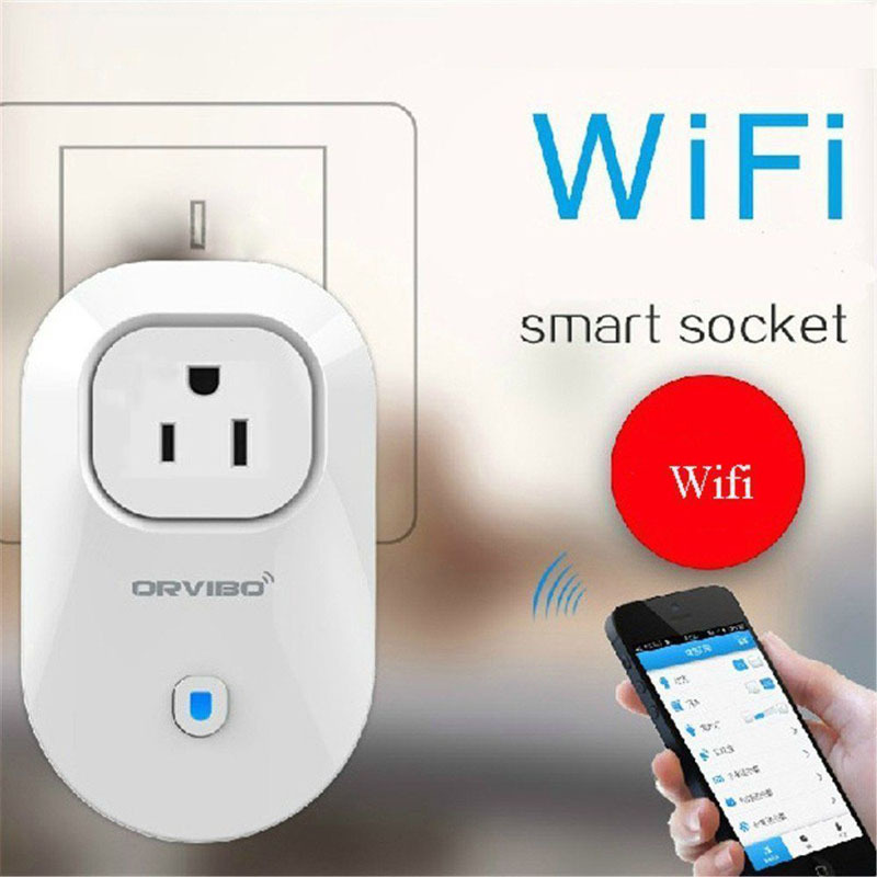 Lightweight S20 WiFi Smart Cell Phone Home Wireless Remote Control Switch Socket Plug Phone Appliance Automation(China (Mainland))