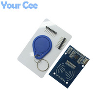 MFRC-522 RC522 RFID RF IC Card Sensor Module with S50 Fudan Card, Keychain For Arduino(China (Mainland))