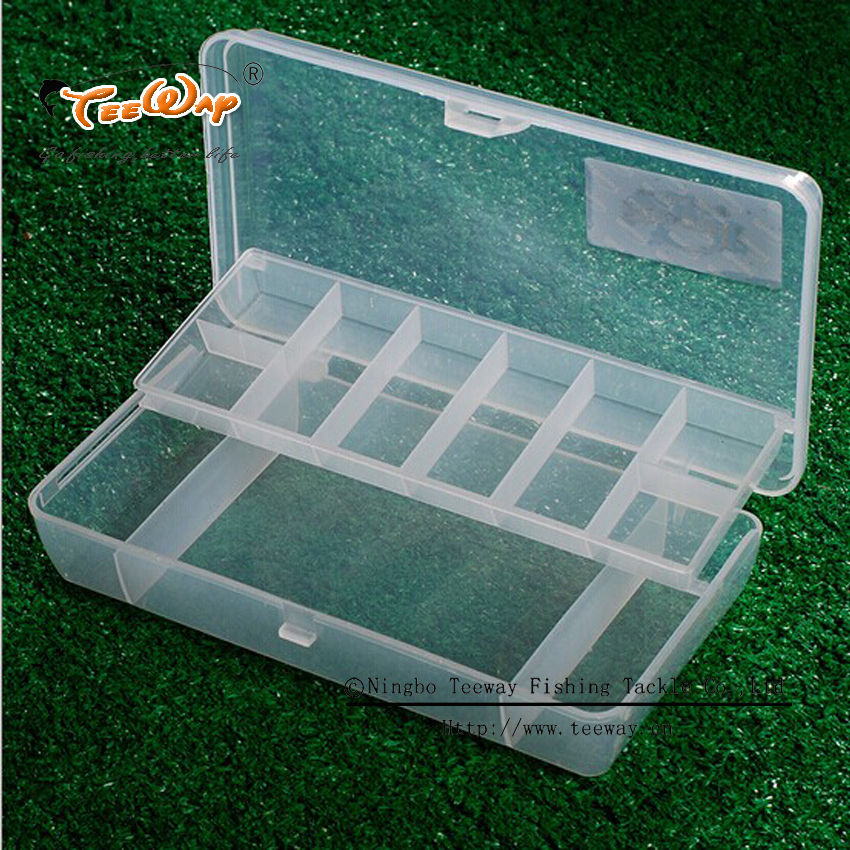 Road Sub Fishing Tool Box Two Layers Of Transparent Double