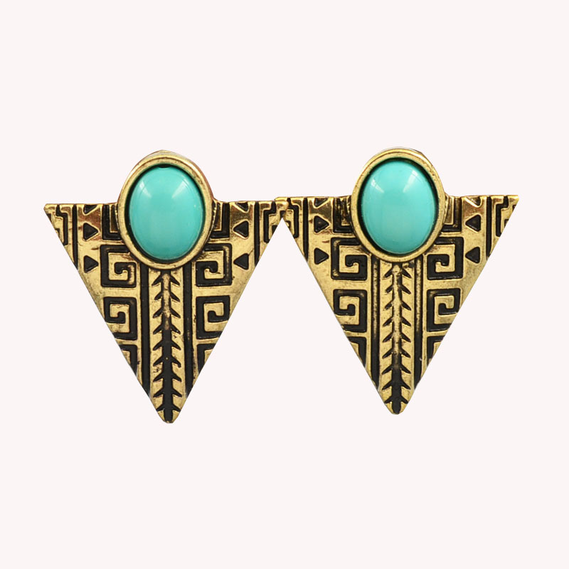 new vinatge jewelry triangle alloy dangle drop earring gift for women girl e2688 in drop. Black Bedroom Furniture Sets. Home Design Ideas