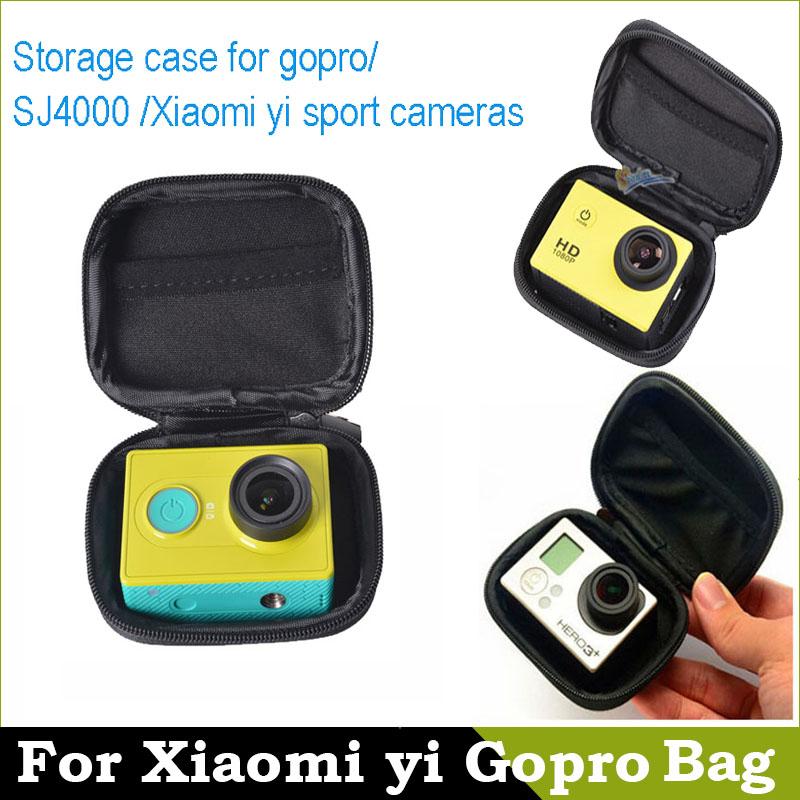 Bag For xiaomi yi Gopro Camera Bag Case Waterproof Storage Portable Camera Bag for Gopro Hero 4 3 2 SJ4000 xiaomi yi Accessories(China (Mainland))