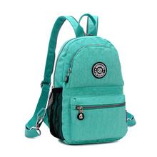 New Casual Women Backpack Female Backpacks Waterproof Nylon Women's Backpack for Printing Canvas Backpack Women Bag Back Pack(China (Mainland))