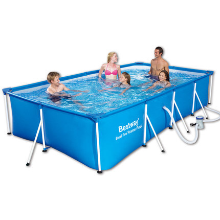 2015 new Large Family Pool Heightening thickened Pools Rectangle portable outdoor pool Free shipping(China (Mainland))