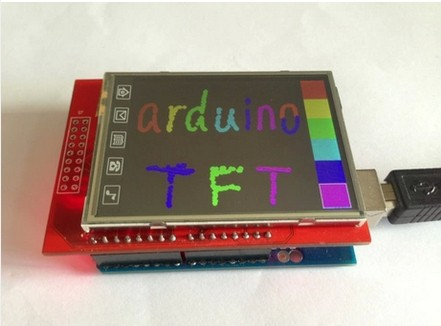 Гаджет  Free Shipping! 2.4 inch TFT touch LCD Module LCD Screen Module For Arduino UNO None Электронные компоненты и материалы