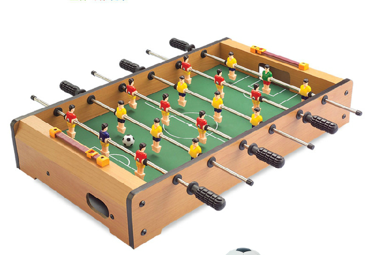 Children's mini foosball table football machines 6 bar desktop toys games(China (Mainland))