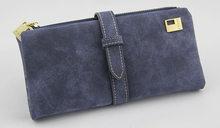 Известный бренд, Длинный кошелек, два раза, женские кошельки, шнурок, нубук, кожа, замшевый кошелек на молнии, женская сумка-клатч Carteira Feminina(China)