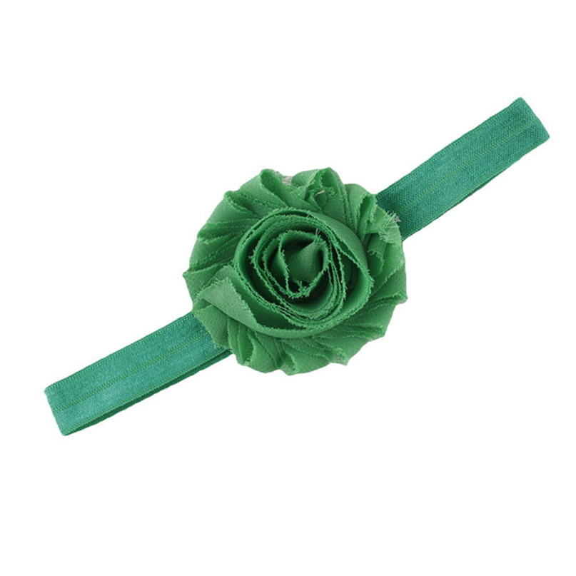 Modern Infant Baby Girls Headbands Adjustable Flower Headband For Kids party birthday Hair Band 9 Colors To Choose Aug04(China (Mainland))