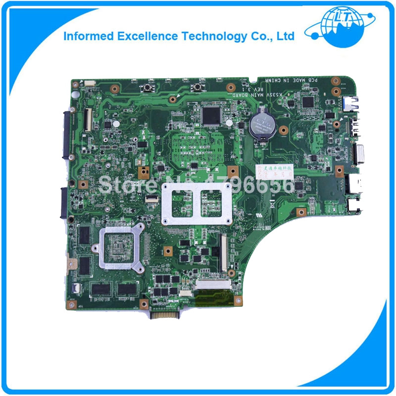 K53SV Laptop motherboard mainboard for ASUS X53S A53S K53SJ K53SC P53S K53SV laptoprev2.1,2.3,3.0,3.1 DDR3 GT540M(China (Mainland))