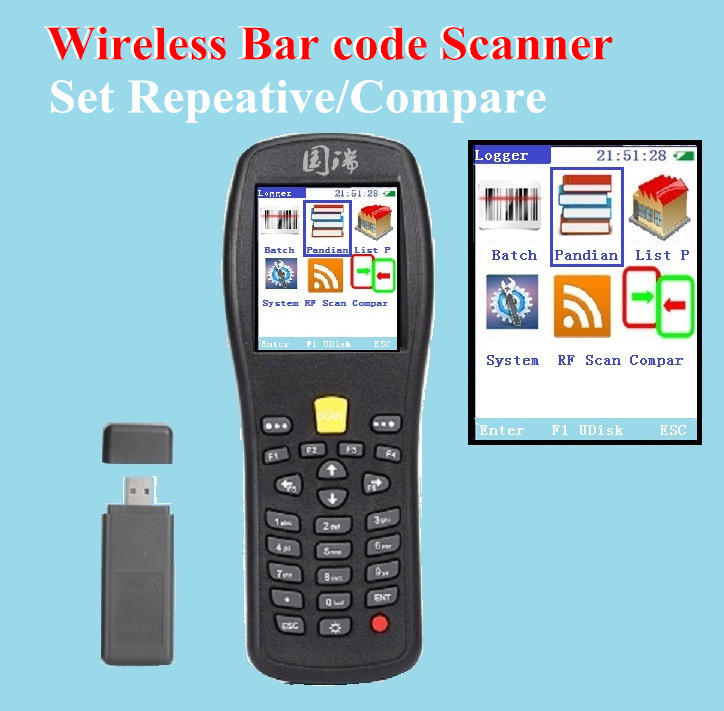 Free shipping! Wireless bar code scanner,Bar code Collector/Inventory PDA/Compare PDA/Switch Chinese and English X3(China (Mainland))