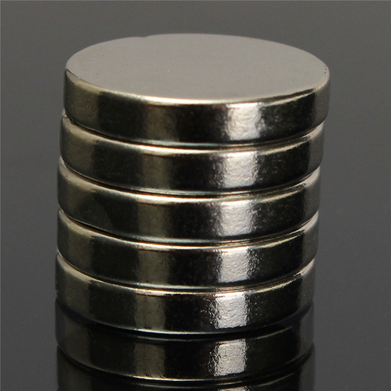 5pcs N50 Strong Disc Round Cylinder MagnetS Rare Earth Neodymium Permanent Magnet Powerful Magnet 15mm x 3mm<br><br>Aliexpress