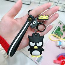 Chian Chave dos desenhos animados Bonito Olá Kitty KT Boneca Do Gato Chaveiros Mulheres Meninas Sacos de Charme chave de cadeia de Acessórios Pingente de Carro Novo anel chave(China)