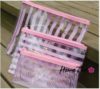 3 pcs Travel Essentials Underwear Bags Glasses Pouch waterproof wash cosmetic bag handbag storage bag free shipping