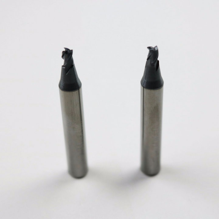 raise free shipping locksmith tools supply carbide end mills 3mm for key cutting used on mult vertical key cutting machines(China (Mainland))