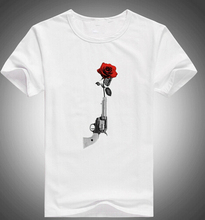 Buy Men's T Shirt 2017 Summer Fashion 8 color Short Sleeve Tees Guns N Roses Logo mens T-Shirt for $11.63 in AliExpress store