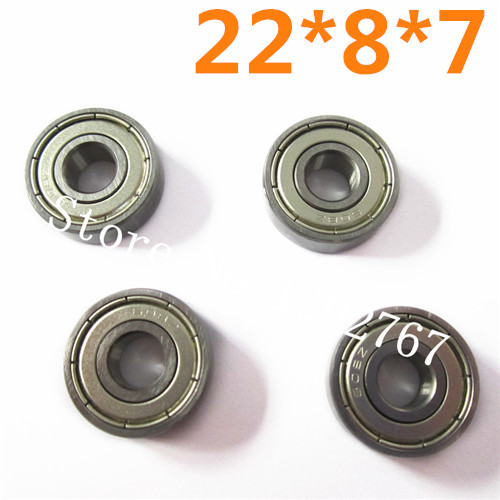 HSP 1/5 Ball Bearing(22*8*7) 4Pcs 50070 Racing Spare Parts For Gas Power RC Hobby 4WD Monster Truck Buggy 94050 Baja(China (Mainland))