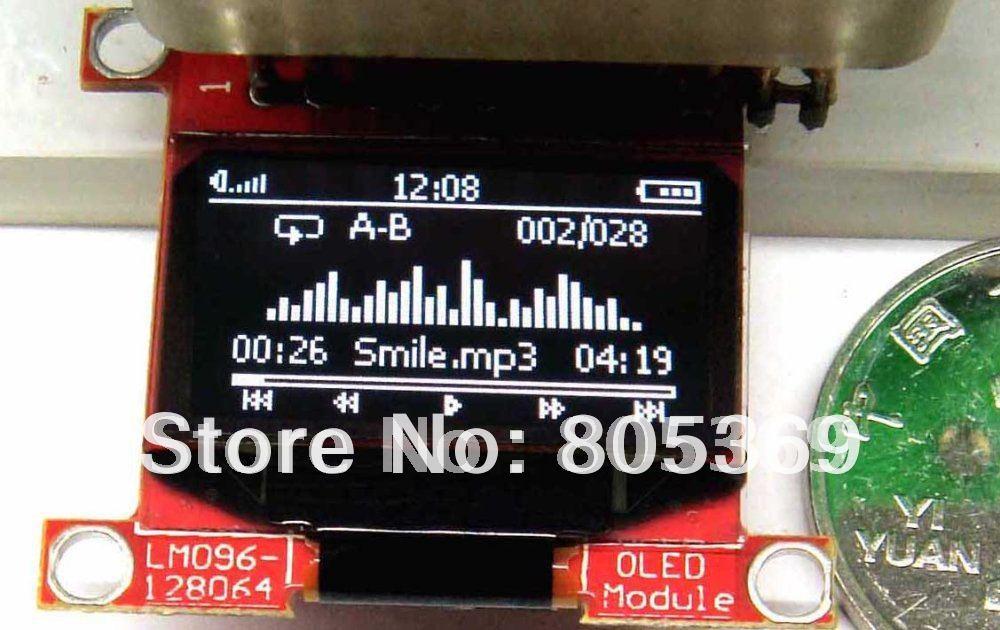oled 0.96 inch 128x64 white OLED module  LM096-128064  oled display lcd led