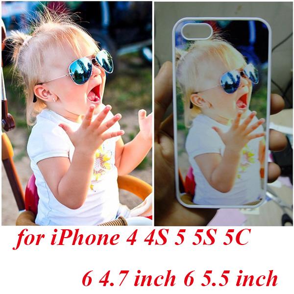 Personalized custom DIY custom photos print Plastic cover case Capas Para Fundas for iphone 6 plus 6 5 5S 5C 4S(China (Mainland))
