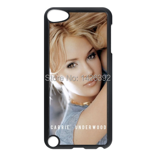 Beautiful Singer Carrie Underwood cell phone case For IPod Touch 5/5G/5th/for ipod 4/4g/4th Covers cover skin(China (Mainland))