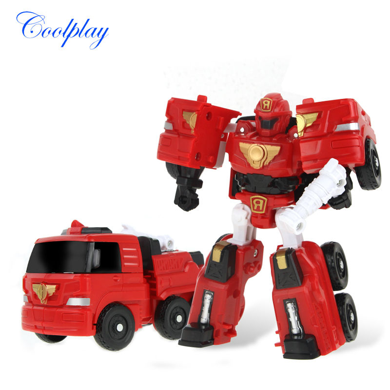 Coolplay 8 style 12 x 9cm Classic Transformation Plastic TOBOT Robot Cars Action & Toy Figures Kids Education Toy Gifts for boy(China (Mainland))