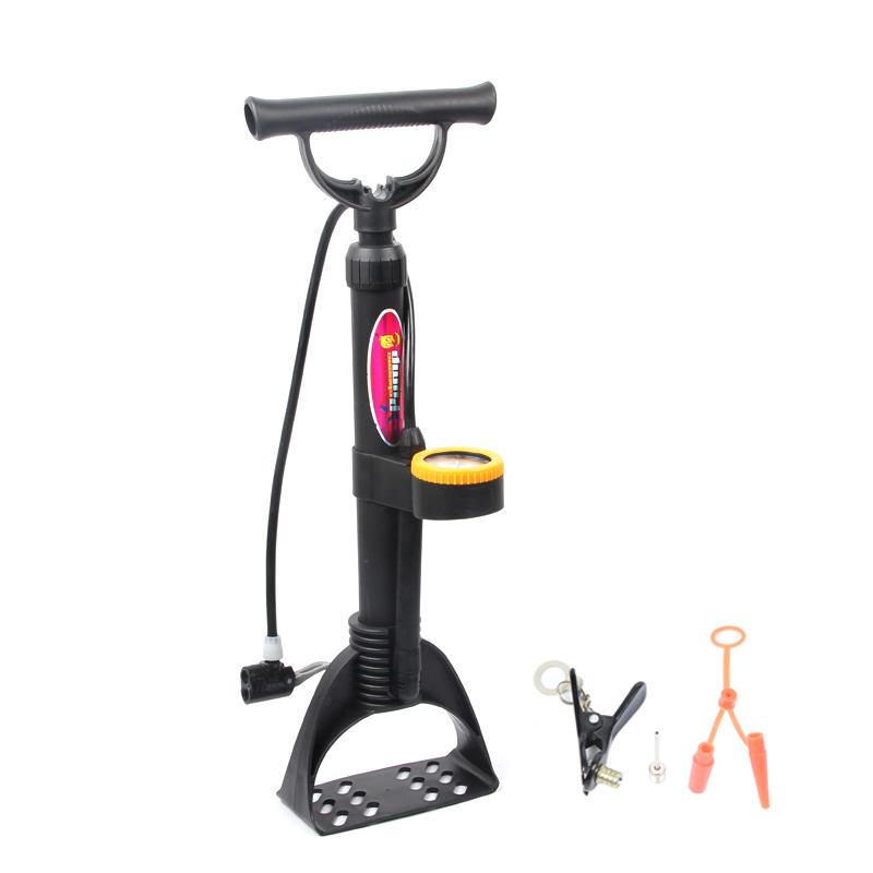 LIETU Bicycle Floor Pump With Gauge 120PSI High Pressure Bike Tire Pump Inflator for Road Bike MTB Mountain Bicycle(China (Mainland))