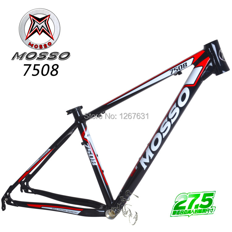 Original MOSSO 27.5 MTB Frame 7005 Aluminum Bicylce Frames Mountain Bike Ultralight 27.5 MTB Frame(China (Mainland))