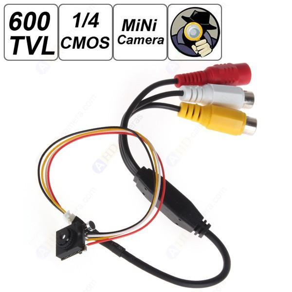 "HOT DIY 600TVL 1 / 4"" HD Smallest Mini Camera Pinhole CCTV Camera Covert Camera Home Security Camera Audio Surveillance(China (Mainland))"