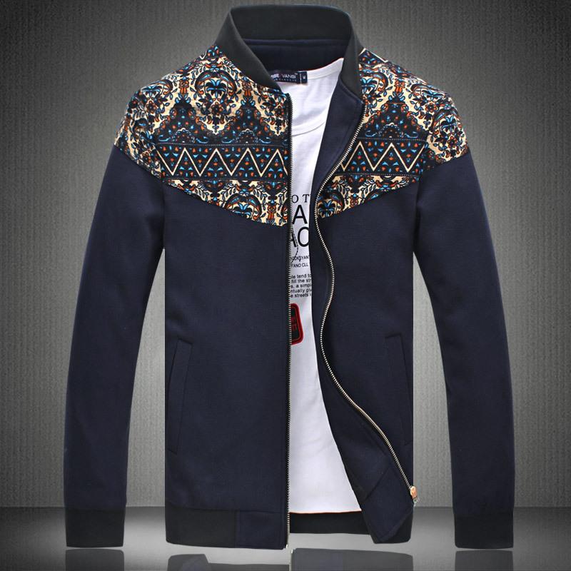 2015 winter NEW casual patchwork men jacket men coat casual-jacket soportswear veste homme chaqueta hombre(China (Mainland))