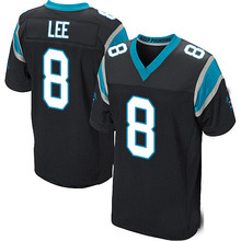 Men's #8 Andy Lee Elite Black Team Color Football Jersey%100 Stitched(China (Mainland))