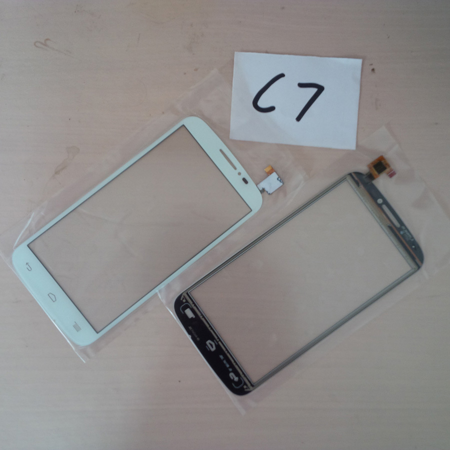 20Pcs/Lot Phone Parts For Alcatel One Touch Pop C7 Front Digitizer Panel 7040 Touch Sensor Screen ; DHL EMS Free Shipping