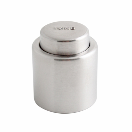 New Hot Selling Stainless Steel Vacuum Sealed Wine Bottle Stopper #3733(China (Mainland))
