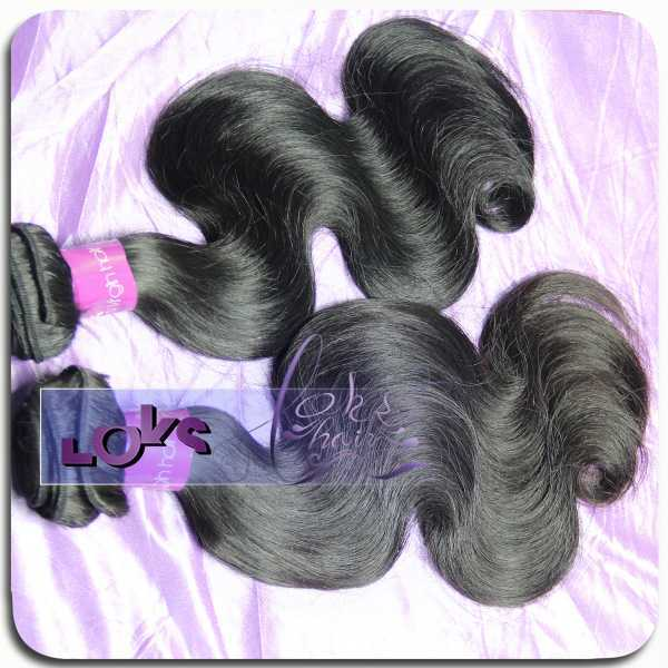 8A Top Quality Raw Indian Temple Hair Body Wave Virgin Hair Weave 3 Bundles  On Sale Indian Remy human hair wholesale For Cheap