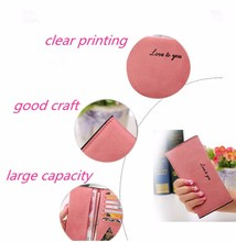 Woman Colorful PU Leather Long Fashion Wallets Purses Female mujer bolsas Famous Brand Women Clutch Portefeuille