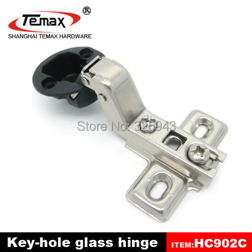 50PCS Kitchen 26mm Cup Insert Soft Close Glass Cabinet Cupboard Hinge Damper Buffer Clip-on Base(China (Mainland))
