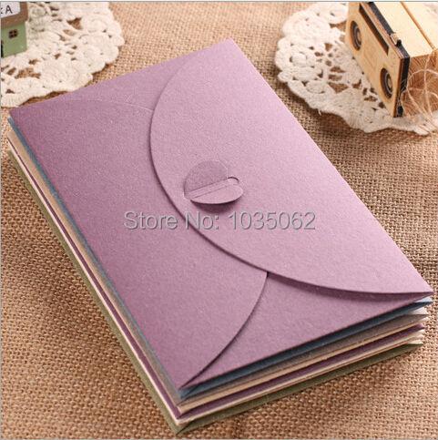 1pcs/Lot High End Texture Matte Paper Envelope, Kraft Envelopes For Invatation Letter 17.5*11cm(China (Mainland))